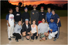 SCMAF Coed Softball Tournament - Championship - October 21, 2017  Photo - Click to Enlarge