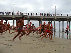 70th Annual Huntington Beach Pier Swim - TBD 2020  Photo - Click to Enlarge