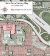 Map of Bella Terra Parking