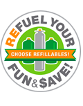ReFuel Your Fun and Save Refillable Propane Cylinders