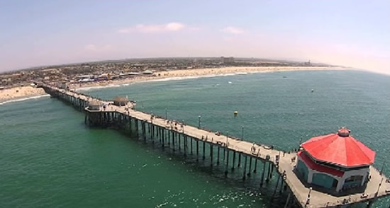 Huntington Beach Coast and Pier