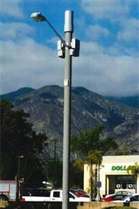 Photo of Wireless Light Pole
