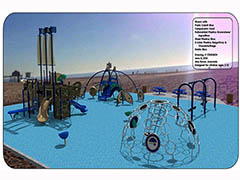 All-Inclusive Playground at the Beach  Photo - Click to Enlarge